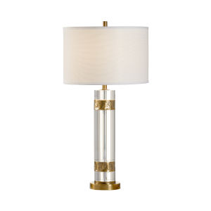 Cobre Clear and Aged Copper Table Lamp