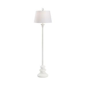 Dorsey Matte White Floor Lamp