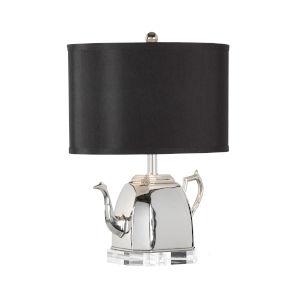 Spout Black Table Lamp