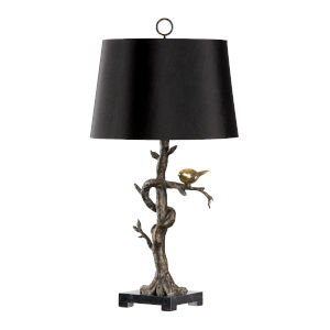 Tweet Bronze Table Lamp