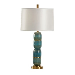 Coastal Turquoise One-Light Table Lamp