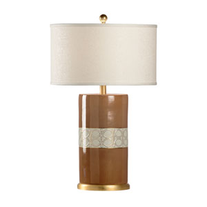 Mt. Vernon Tobacco Brown One-Light Table Lamp