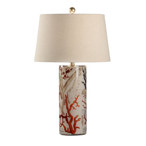 Mt. Vernon Clear One-Light Table Lamp
