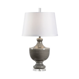 Mt. Vernon Slate Glaze One-Light Table Lamp