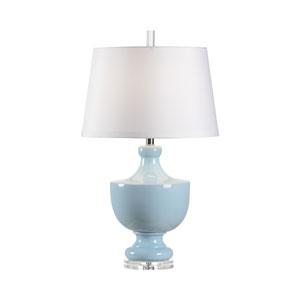 Mt. Vernon Powder Glaze One-Light Table Lamp