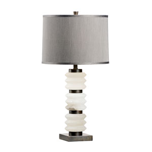 Traditions Made Modern Natural White One-Light Table Lamp