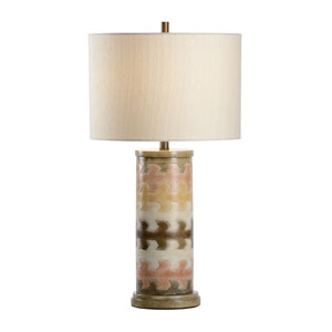 Traditions Made Modern Hand Colored One-Light Table Lamp