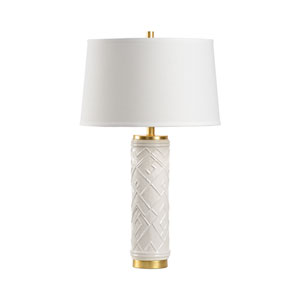 Traditions Made Modern White Glaze One-Light Table Lamp