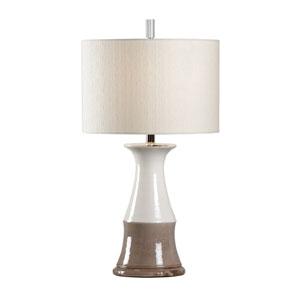 Vietri Grey One-Light Table Lamp