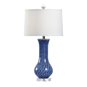 Vietri Lapis One-Light Table Lamp