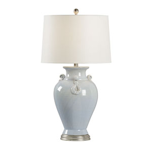 Vietri Blue Cloud One-Light Table Lamp