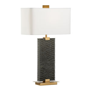 High Country Matte Black One-Light Table Lamp