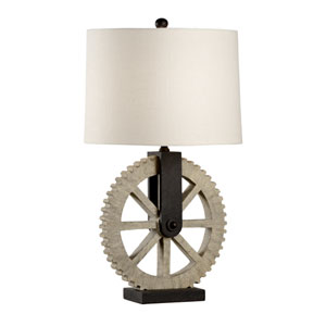 Bob Timberlake Textured Light Wood One-Light Table Lamp