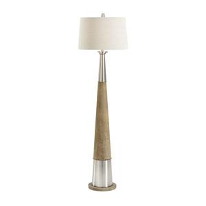Bob Timberlake Brushed Nickel One-Light Floor Lamp