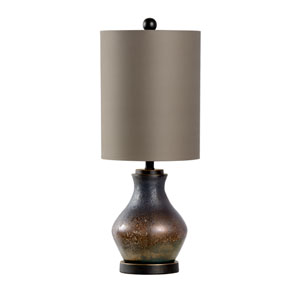 Bob Timberlake Textured Bronze One-Light Table Lamp