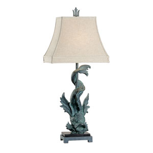 Biltmore Verdi Green One-Light Table Lamp
