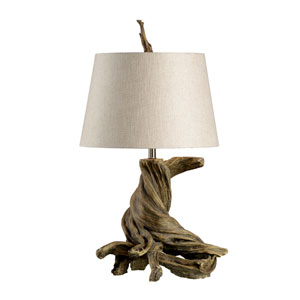 Biltmore Oak Wood One-Light Table Lamp