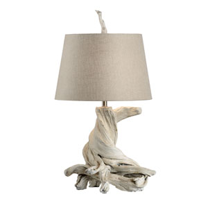 Biltmore Antique Whitewash One-Light Table Lamp