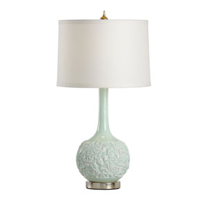 Biltmore Antique Silver Leaf Mounting One-Light Table Lamp