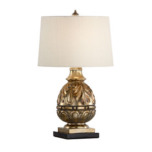 Biltmore Ambered Silver Leaf One-Light Table Lamp