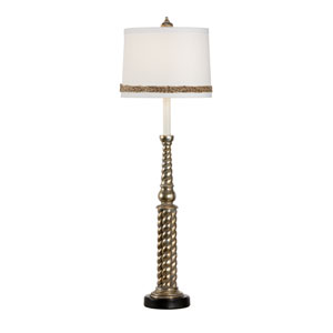 Biltmore Antique Silver Leaf One-Light Table Lamp