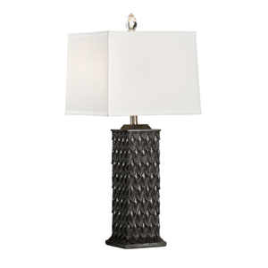 Biltmore Charcoal Stone Dust One-Light Table Lamp