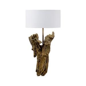 Biltmore Natural Wood One-Light Table Lamp