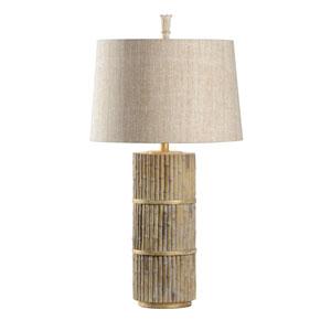 Joe Ruggiero Natural Bamboo One-Light Table Lamp