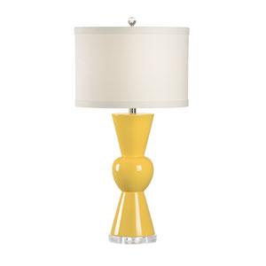 MarketPlace Sunflower Yellow Glaze One-Light Table Lamp