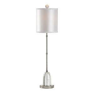 MarketPlace Clear One-Light Table Lamp