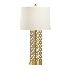 MarketPlace Brass One-Light Table Lamp