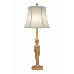 Umbered Brass 31-Inch One-Light Table Lamp