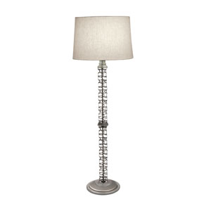 Satin Nickel 61-Inch One-Light Floor Lamp