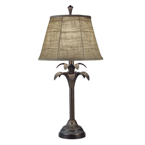 Bombay Bronze One-Light Table Lamp