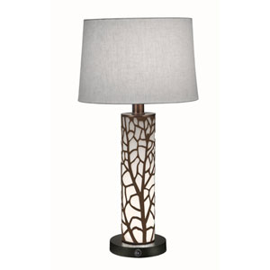 Oil Rubbed Bronze with Opal Acrylic One-Light Table Lamp