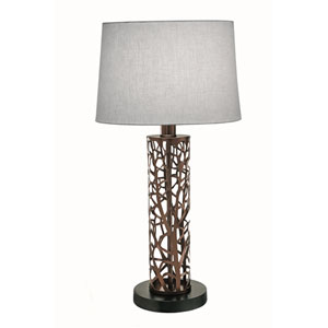 Oil Rubbed Bronze 29-Inch One-Light Table Lamp