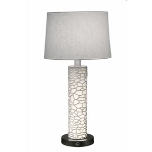 Satin Nickel with Opal Acrylic 29-Inch One-Light Table Lamp