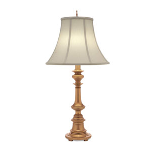 Antique Brass One-Light Table Lamp