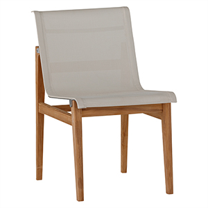 Coast Ivory Teak Side Chair