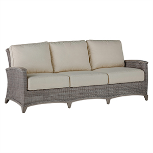 Astoria Oyster Sofa with Linen Dove Cushion