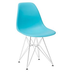 Nicollet Aqua Side Chair