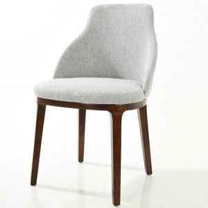 Selby Light Gray Dining Chair