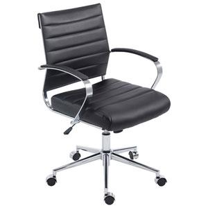 Nicollet Black Office Chair