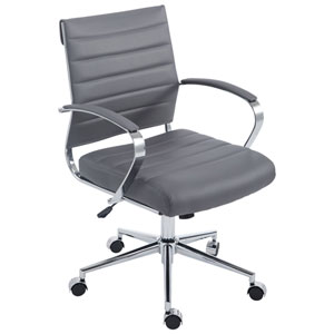 Nicollet Gray Office Chair