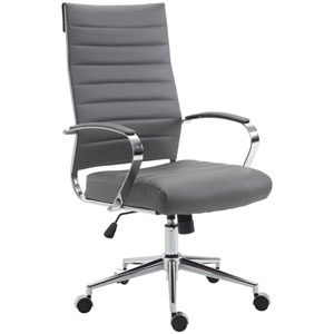 Nicollet Gray High Back Office Chair