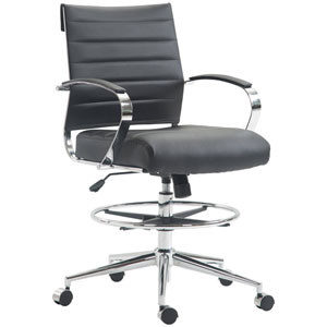 Nicollet Black Drafting Chair