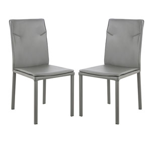 Loring Gray Dining Chair, Set of Two