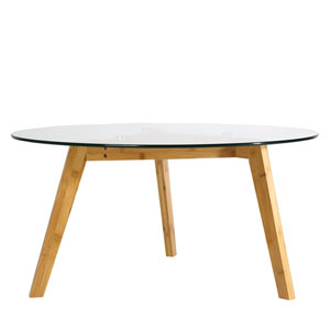 Uptown Glass Coffee Table