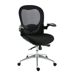 Selby Black Mesh Office Chair