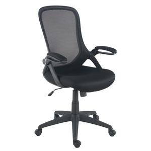 Loring Black Mesh Office Chair